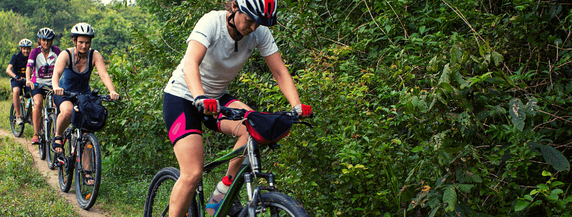 women cycling - cycle challenge