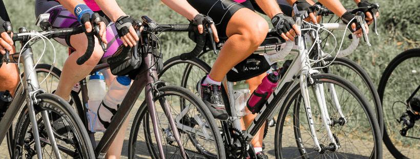 cycling - female bike ride